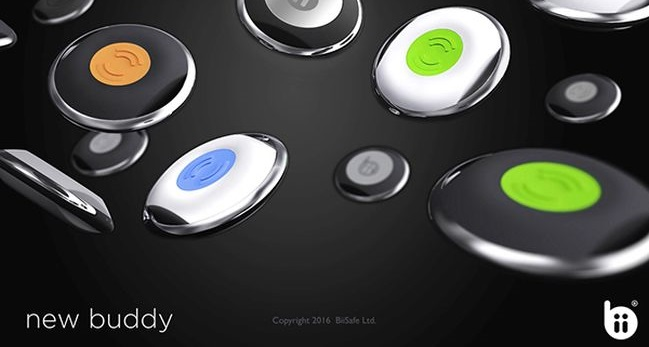 BiiSafe Buddy the smart button for your safety